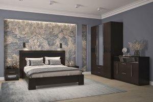 Спальня Роксана венге - Мебельная фабрика «Омскмебель»