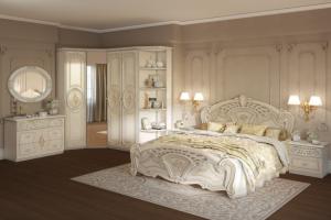 Спальня Роза беж - Мебельная фабрика «ИнтерДизайн»