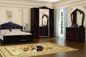 Спальня Роза махонь - Мебельная фабрика «ИнтерДизайн»