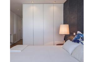 Спальня с большим шкафом - Мебельная фабрика «Алгаир»