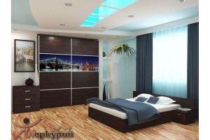 Спальня с фотопечатью Стейша - Мебельная фабрика «Меркурий»