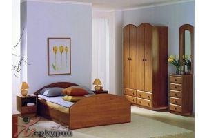 Спальня с комодом Антонина - Мебельная фабрика «Меркурий»