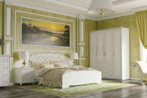 Спальня с комодом Стрекоза - Мебельная фабрика «СОФТФОРМ»
