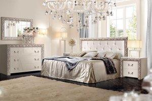Спальня с комодом Тиффани премиум - Мебельная фабрика «Ярцево»