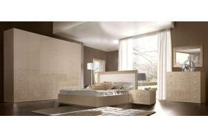 Спальня с распашным шкафом Роза 3 - Мебельная фабрика «Ярцево»