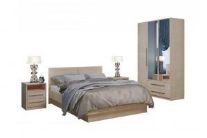 Спальня с распашным шкафом Соната 4 - Мебельная фабрика «Балтика мебель»