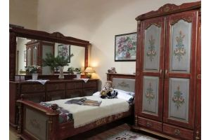 Спальня с ручной художественной росписью - Мебельная фабрика «Грин Лайн»