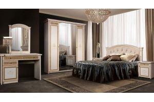 Спальня с туалетным столиком Карина 3 - Мебельная фабрика «Ярцево»