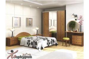 Спальня с туалетным столиком Ривьера - Мебельная фабрика «Меркурий»