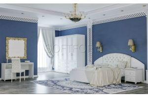 Спальня с туалетным столиком Стрекоза - Мебельная фабрика «СОФТФОРМ»