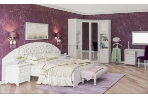 Спальня с угловым шкафом Стрекоза - Мебельная фабрика «СОФТФОРМ»
