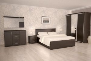 Спальня Садко 3 - Мебельная фабрика «Рось»