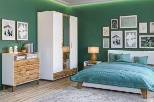 Спальня Сканди - Мебельная фабрика «Мебель-Неман»