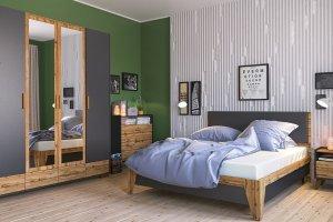 Спальня Сканди Графит - Мебельная фабрика «Мебель-Неман»