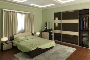 Спальня со шкафом-купе 8 - Мебельная фабрика «Алекс-Мебель»