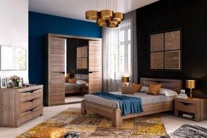 Спальня Соренто Дуб стирлинг - Мебельная фабрика «Фран»