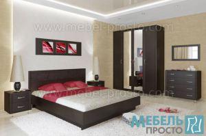 Спальня - Стиль 1 - Мебельная фабрика «МЕБЕЛЬ ПРОСТО»