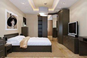 Спальня Сунна 3 с угловым шкафом - Мебельная фабрика «Эльба-Мебель»