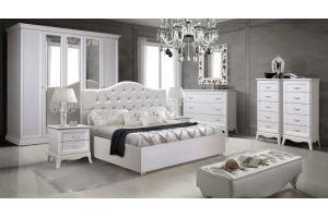 Спальня светлая Амели 3 - Мебельная фабрика «Ярцево»