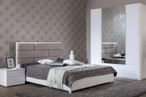 Спальня светлая дизайн Невада - Мебельная фабрика «Манн-групп»