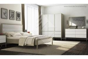 Спальня светлая Хитроу - Мебельная фабрика «Молодечномебель»