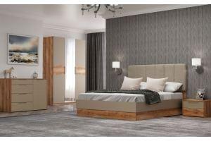 Спальня светлая ЛДСП Рамона - Мебельная фабрика «АСМ-модуль»