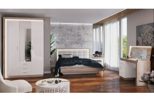 Спальня светлая Люмен - Мебельная фабрика «Ижмебель»