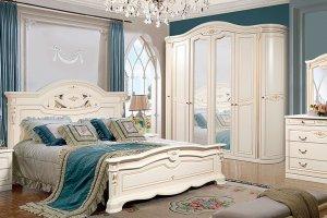 Спальня светлая Сорренто 1Д2 - Мебельная фабрика «Слониммебель»