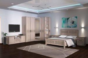 Спальня светлая Стелла - Мебельная фабрика «Рось»