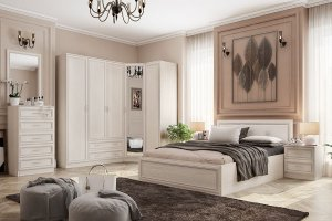 Спальня светлая Верона - Мебельная фабрика «Можгинский лесокомбинат»
