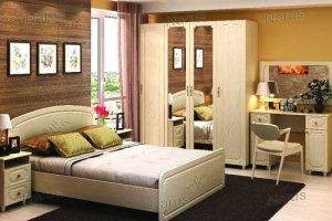 Спальня светлая Вик - Мебельная фабрика «НАРУС»