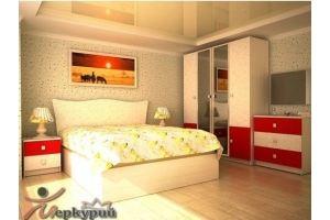 Спальня светлая Зафира - Мебельная фабрика «Меркурий»