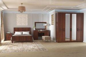 Спальня темная Стелла 2 - Мебельная фабрика «Рось»