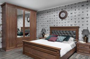 Спальня в классическом стиле Равенна 1 - Мебельная фабрика «Артис»