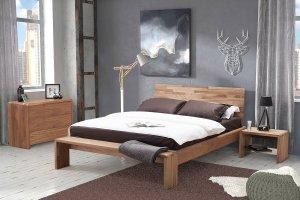 Спальня в современном стиле из массива дерева - Мебельная фабрика «Артим»