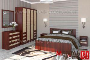 Спальня - Валерия 1 Р - Мебельная фабрика «МЕБЕЛЬ ПРОСТО»