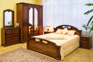 Спальня Валерия 4 - Мебельная фабрика «Орёлмебель»
