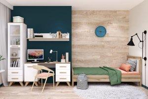 Спальня Вега Скандинавия 1 - Мебельная фабрика «Кураж»