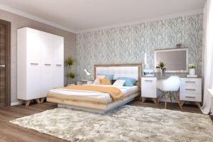 Спальня Вега Скандинавия  3 - Мебельная фабрика «Кураж»