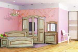 Спальня Венера 4-дверная - Мебельная фабрика «Кубань-мебель»