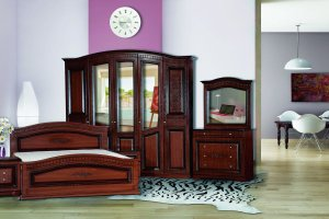 Спальня Венера 5-дверная Орех - Мебельная фабрика «Кубань-мебель»