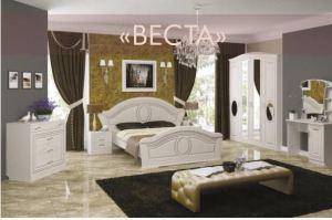 Спальня вЕСТА В КЛАССИЧЕСКОМ СТИЛЕ - Мебельная фабрика «Регина»