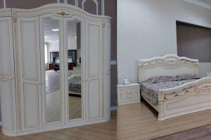 Спальня Виттория Люкс - Мебельная фабрика «Сходня Мебель»