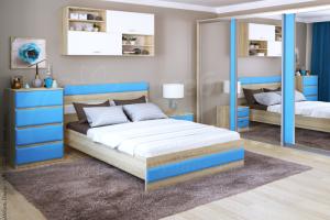 Спальня Волна-к - Мебельная фабрика «Ольга»