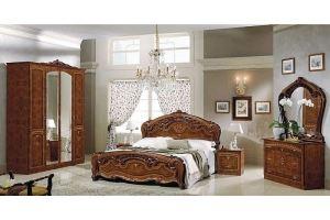 Спальня Юлия орех - Мебельная фабрика «Манго»