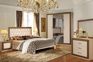 Спальня Жасмин - Мебельная фабрика «Август»