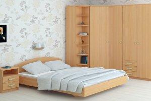 Спальный гарнитур 05 - Мебельная фабрика «Профит»