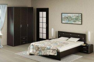 Спальный гарнитур 2 венге - Мебельная фабрика «Арт Мебель»