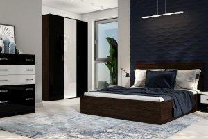 Спальный гарнитур темный - Мебельная фабрика «Лев Мебель»