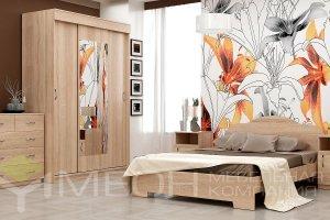 Спальный гарнитур Александра 3 - Мебельная фабрика «Меон»